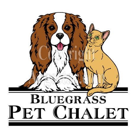 Bluegrass Pet Chalet Logo