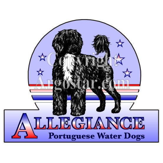 Allegiance Portuguese Water Dogs Logo