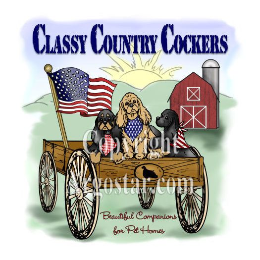 Classy Country Cockers Logo