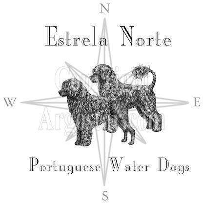 Estrela Norte Portuguese Water Dogs Logo