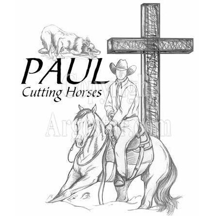 Paul Cutting Horses Logo