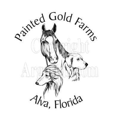 Painted Gold Farms Logo