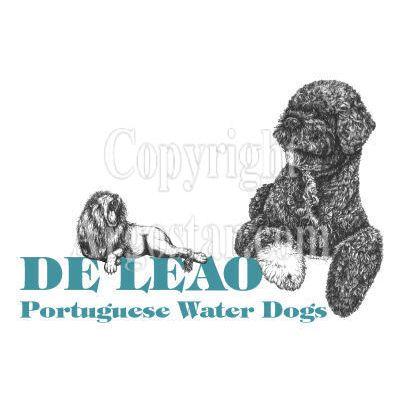 De Leao Portuguese Water Dogs Logo