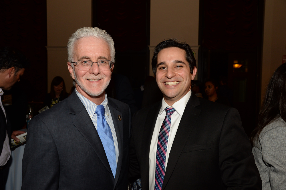 Councilmember Paul Krekorian and City Impact Lab Founder John Bwarie