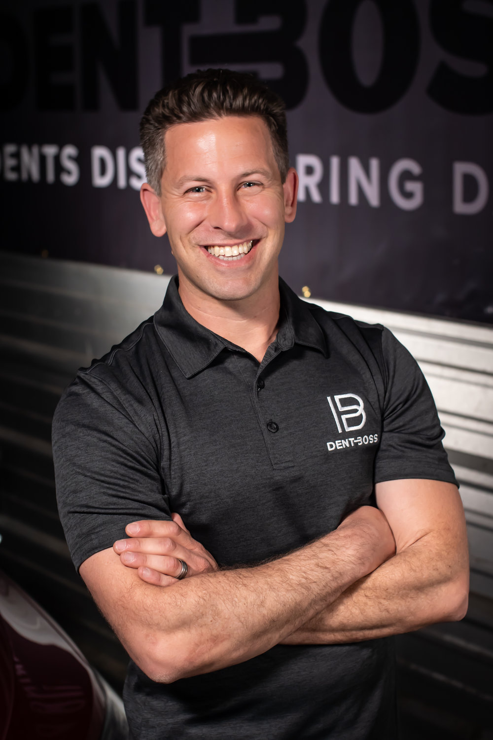 Who is Dent Boss? - Jeff Reeb and his Paintless Dent Repair team have repaired thousands of vehicles across the United States. They successfully restore hail damaged vehicles to their pre-storm condition, retaining the look, and most importantly, the value to vehicles.Working on hail damaged cars from Colorado to Texas, Tennessee to Missouri, Jeff and his team strive for restoration perfection on every dent and every car, each and every time. Making customers their number one priority, they're experts in managing hail claims with auto insurance companies. As a customer, you're assured maximum payout for a complete repair job, ensuring that all damaged is properly accounted for.
