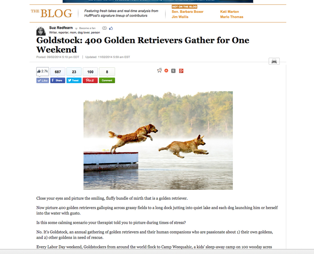 Article of Goldstock featured in the huffington post. You can read the article by clicking here.
