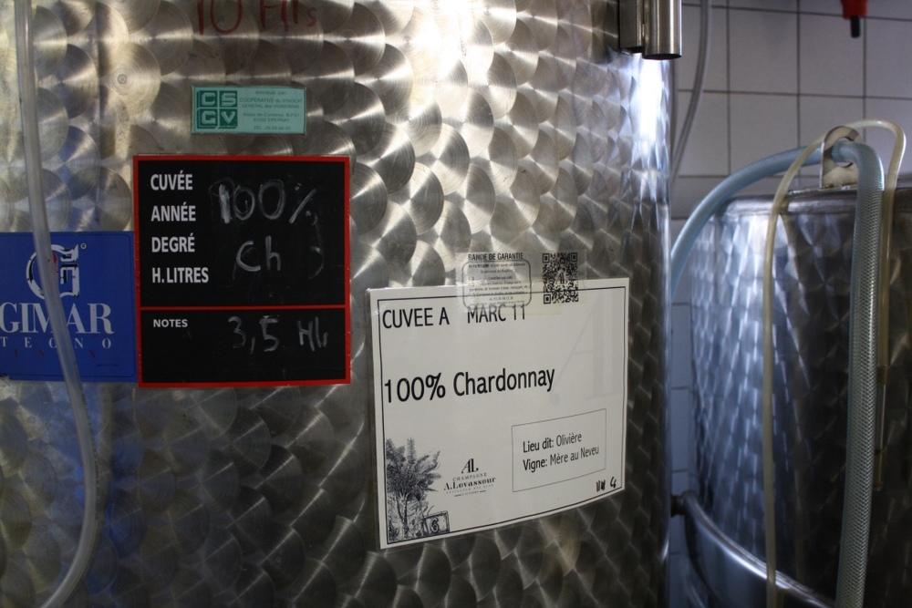 Aux Bulles Champagner Champagne Levasseur Chardonnay