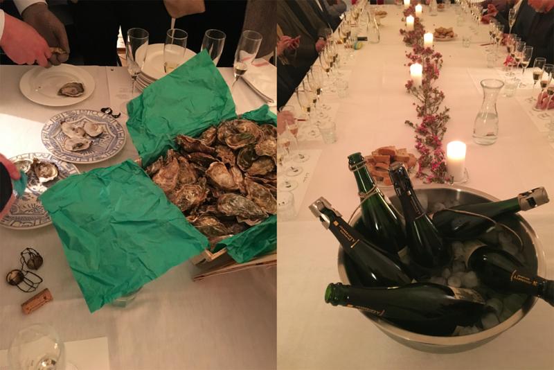 Soirée Aux Bulles Champagner Austern Wien