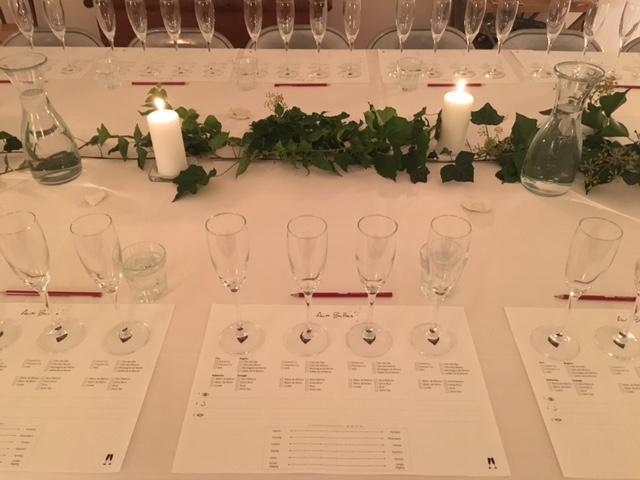 Aux Bulles Champagner Verkostung Wien
