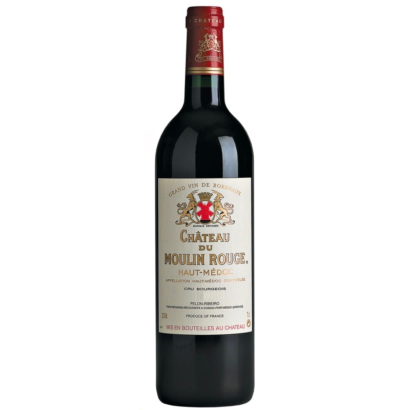 Chateau du Moulin Rouge 2014 - Cru Bourgeois