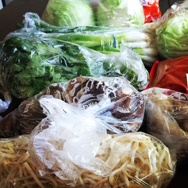 Fresh veggies ready to prep! 😋😎🔪🍅#dumplingbros #foodtruck #dentontx