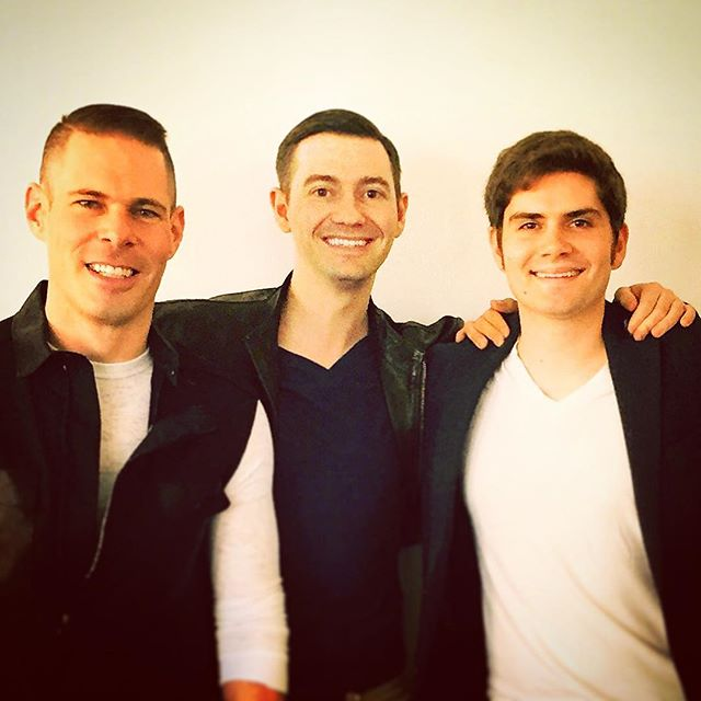 Happy Turkey Day #vox family! We are so thankful for your perpetual love and support, and wish you all a fulfilling and rejuvenating holiday! Here's a shot from our very first day together auditioning as #vox! #thanksgiving #manband #voxsings #thankful