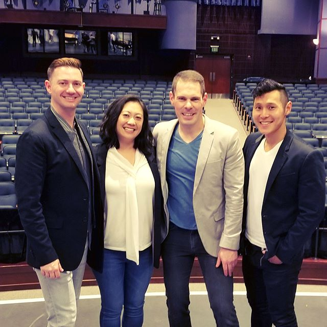 #privileged to have spent this weekend with the #passionate, #talented students of @dvhswildcats! @diana.g.walker what a program you have built! We had an incredible time and can't wait to come back! #voxsings #manband #chorus #sanramon #masterclass