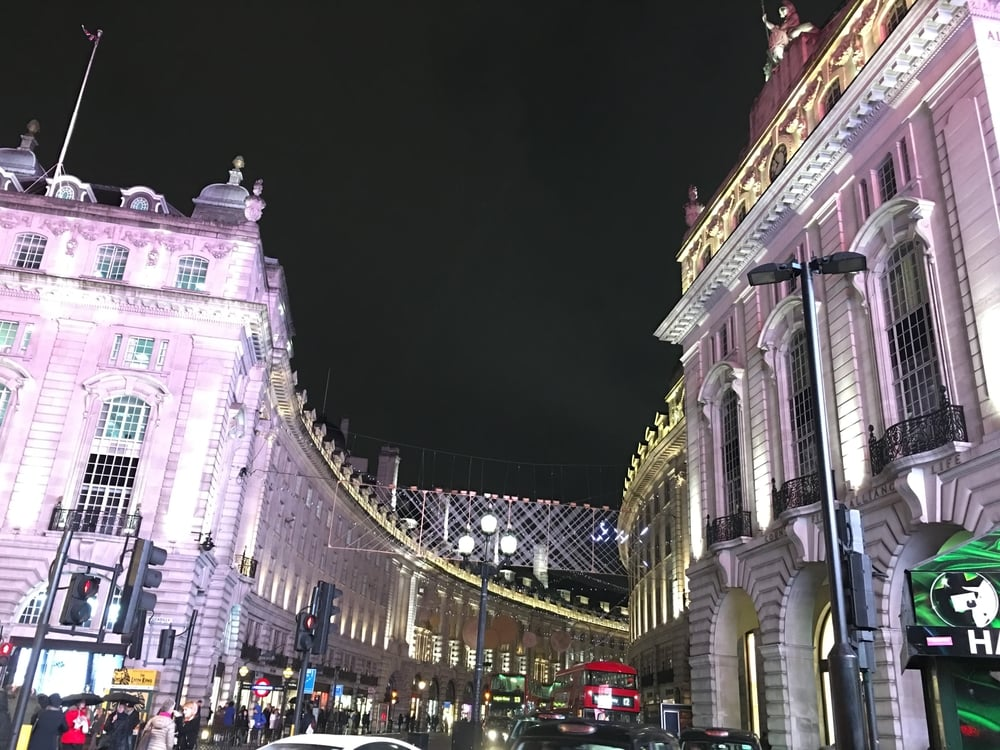 Regent's Street near Piccadilly Circus