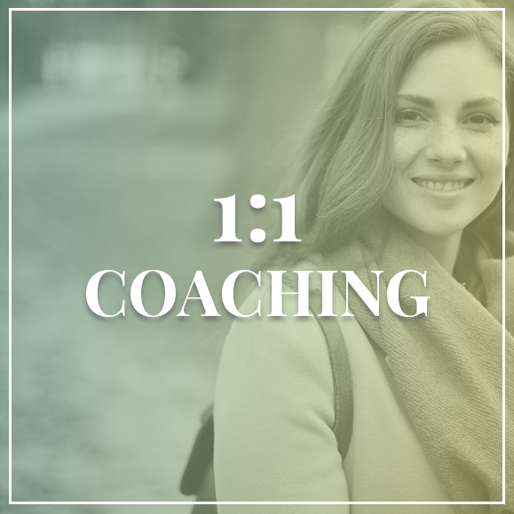 1:1 Coaching | Virtual Life Coach | Women's Life Coach