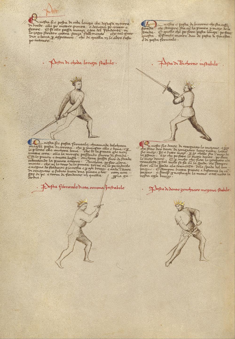Getty_Ms__Ludwig_XV_13_24v_-_Fiore_dei_Liberi_-_Combat_with_Sword_-_Google_Art_Project_(6916021).jpg