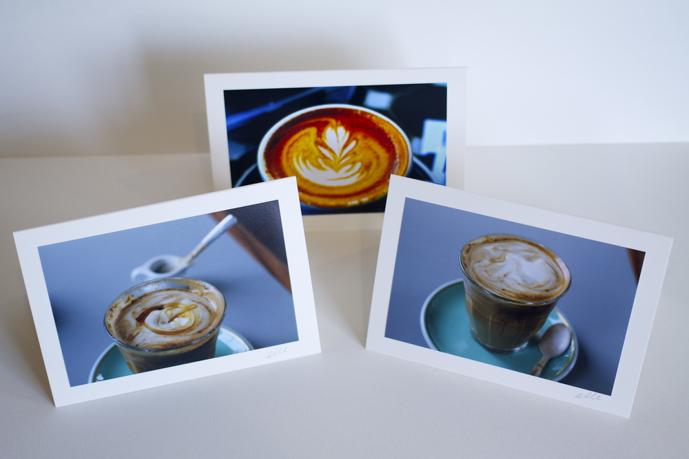 Latté Delight Line of Greeting Cards