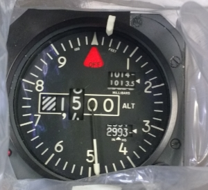 PN: 28007-207 | $7,500 USD Description: ENCODING ALTIMETER Condition: OH Trace: AIR CANADA JAZZ TRACE & OUR COC Cert Date: FRESH TAGS 8130-3 DUAL RELEASE (Dated 09/01/16) Lead Time: STOCK