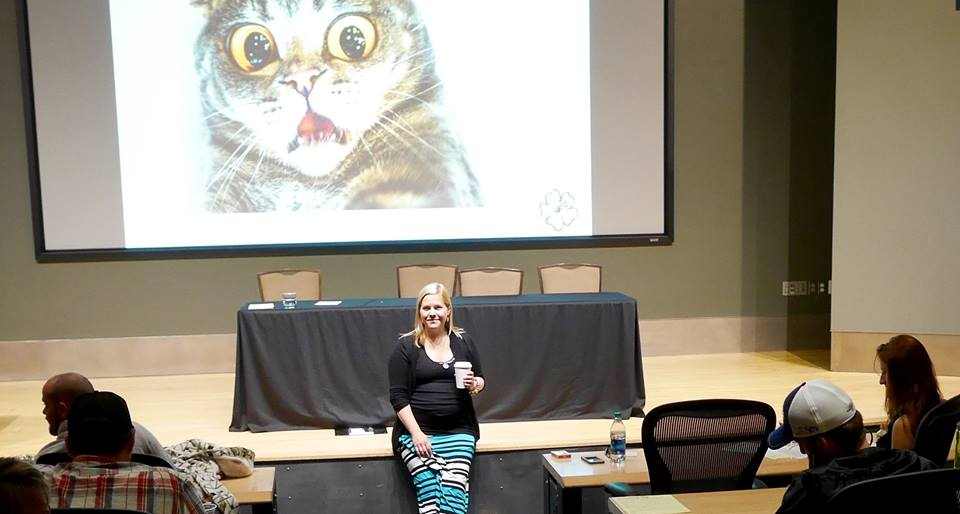 Kerri Sparling, PWD, renowned speaker and blogger
