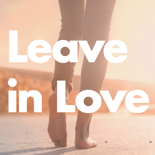 Leave in Love Website  (all design & content)