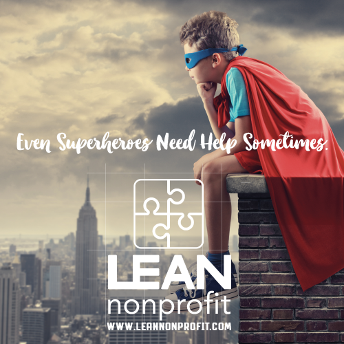 Lean Nonprofit Blog and Website  (all design & content including logo)