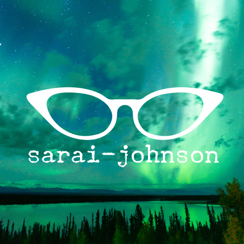 Sarai-Johnson.com Website Homepage  (all design & content including logo)
