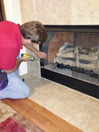 "alt=""Fireplace inspection by Ragan Inspection Services"""