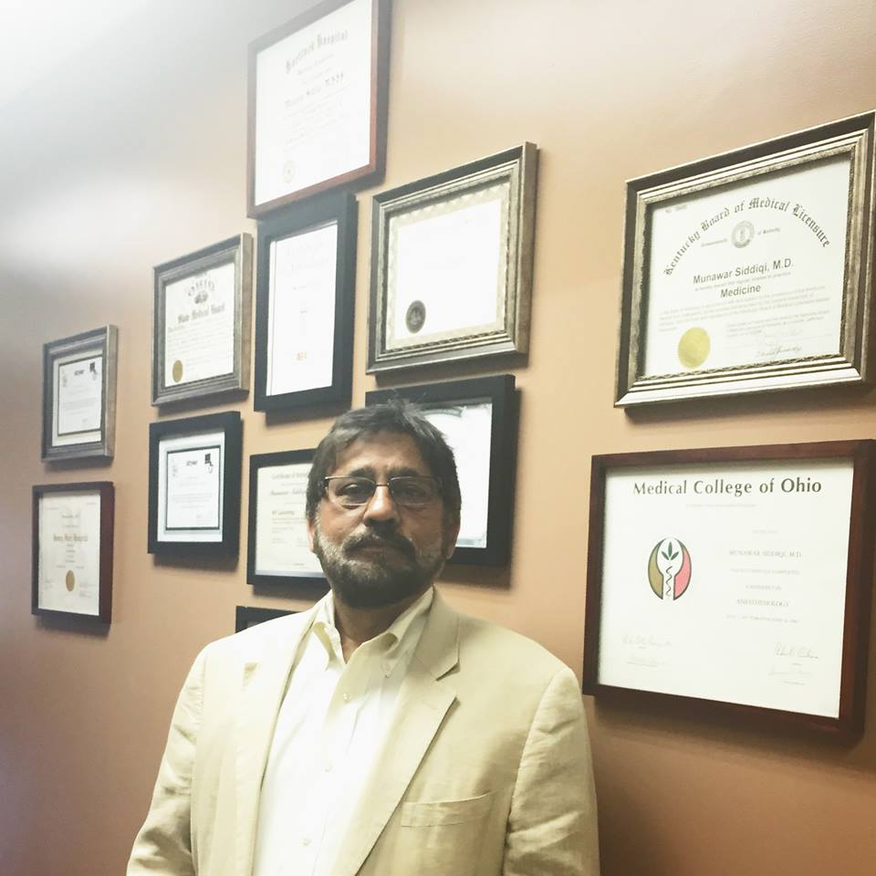 Meet our Doctor! Dr. Munawar Siddiqi, M.D.