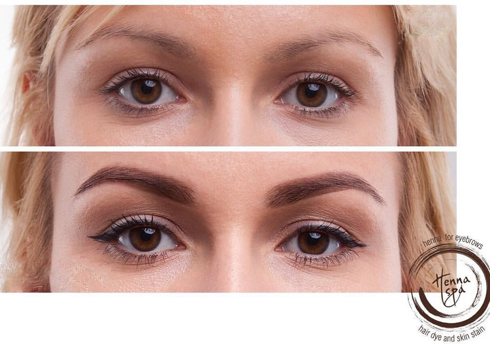 REVOLUTION IN BROW TINTING WITH SKIN STAINING