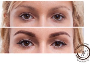 Revolution In Brow Tinting With Skin Staining Lash Styles