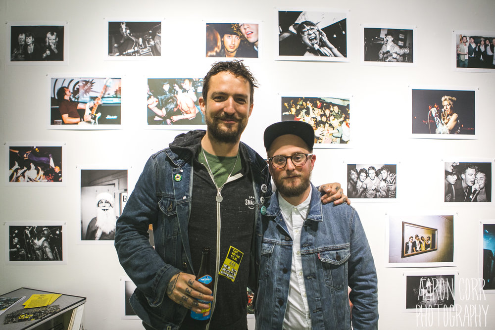 Frank Turner with Gregory Nolan
