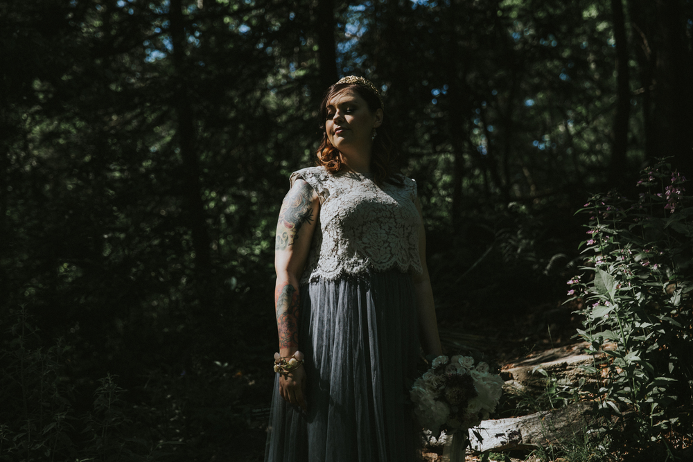 asheville north carolina unique and alternative wedding and elopement photographer