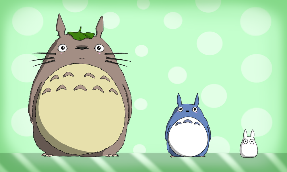 O Totoro, Chu Totoro, and Chibi Totoro