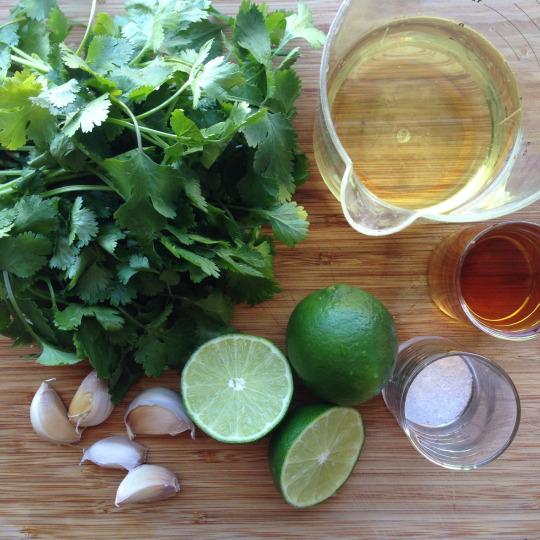 how to make lime vinaigrette
