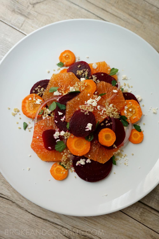 Vibrant Citrus Beet Salad