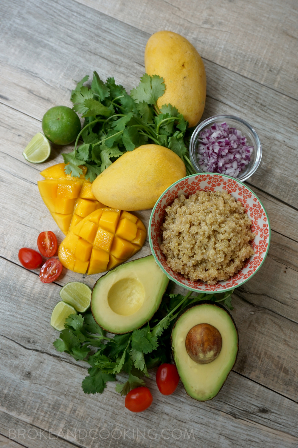Seriously gorgeous ingredients - eating the rainbow is a really easy way to get a ton of nutrients!