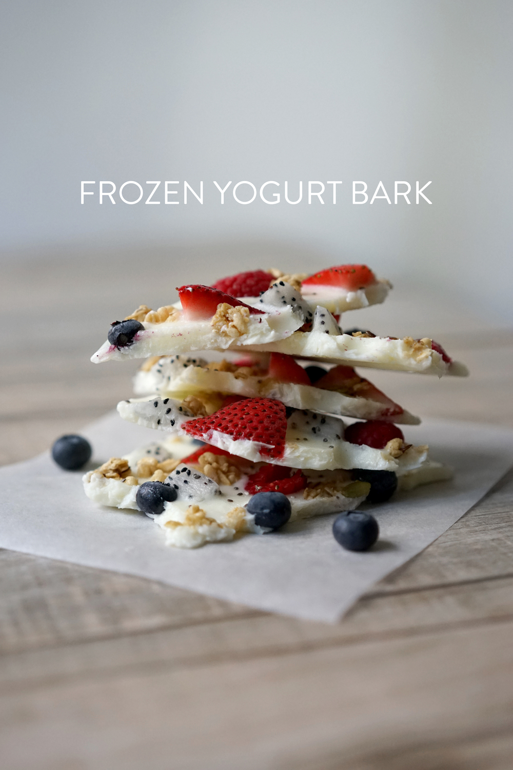 Broke and Cooking Frozen Yogurt Bark 1