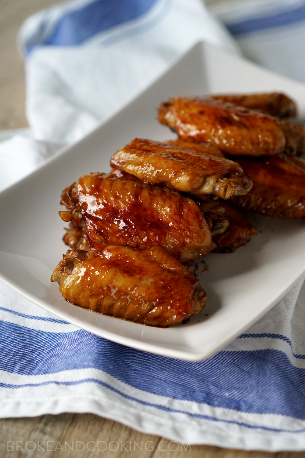 The easiest chicken wings ever.