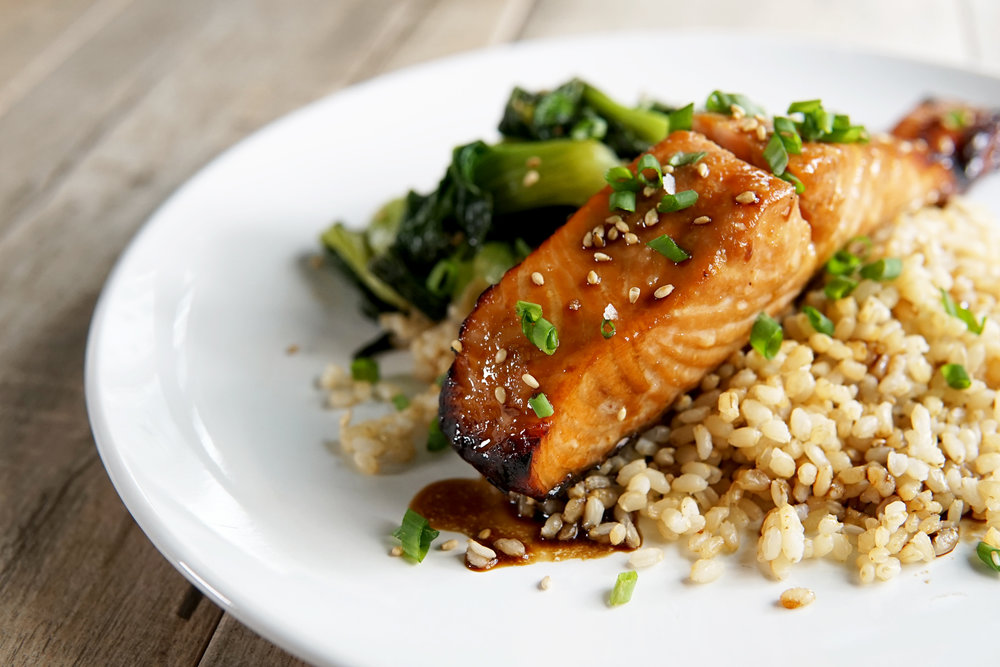 Broiled Honey Soy Salmon Recipe by Broke and Cooking - www.brokeandcooking.com
