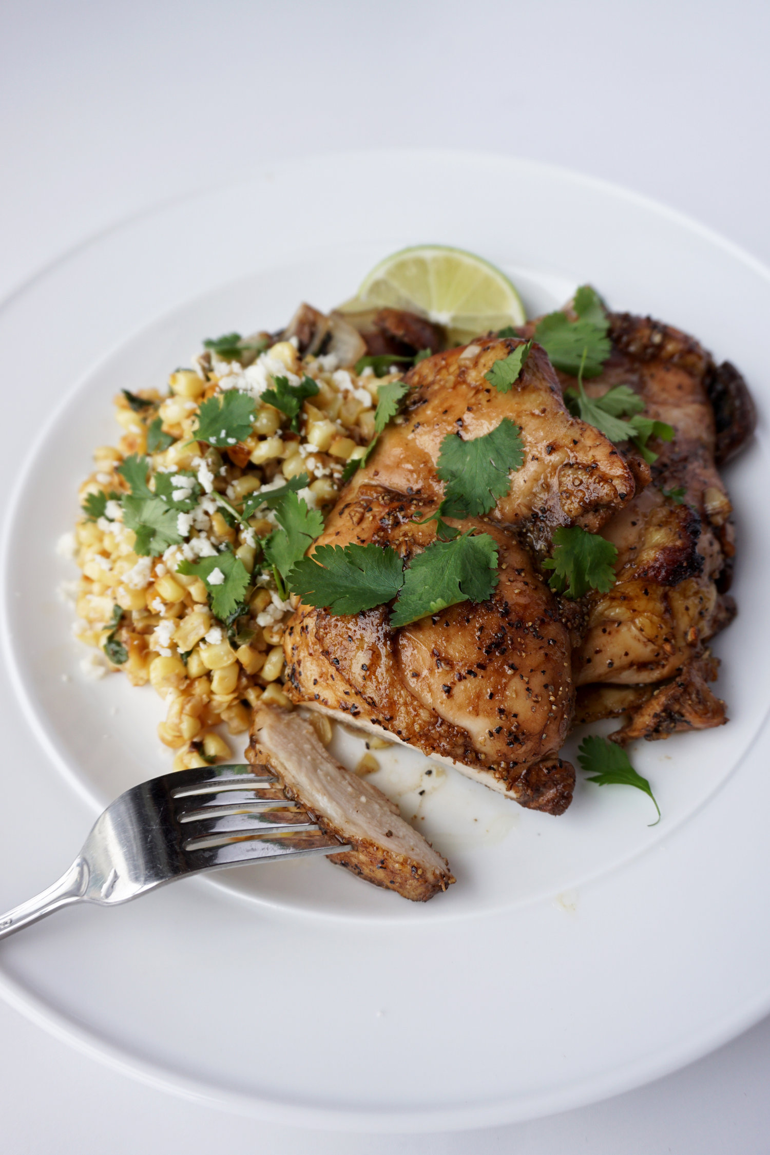 Baked Cilantro Lime Chicken