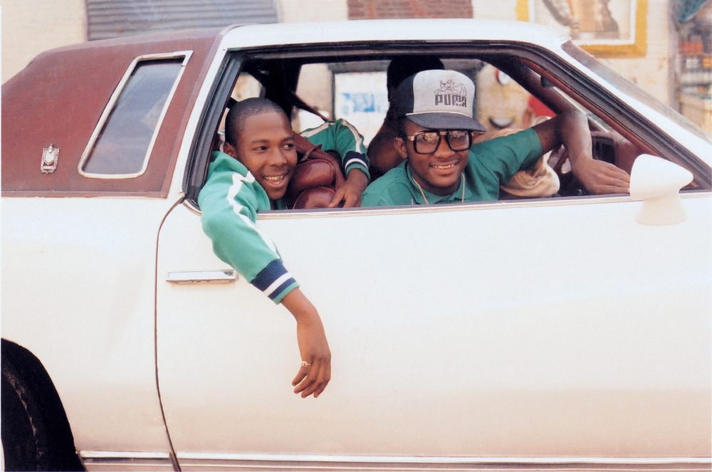 Photograph by  Jamel Shabazz