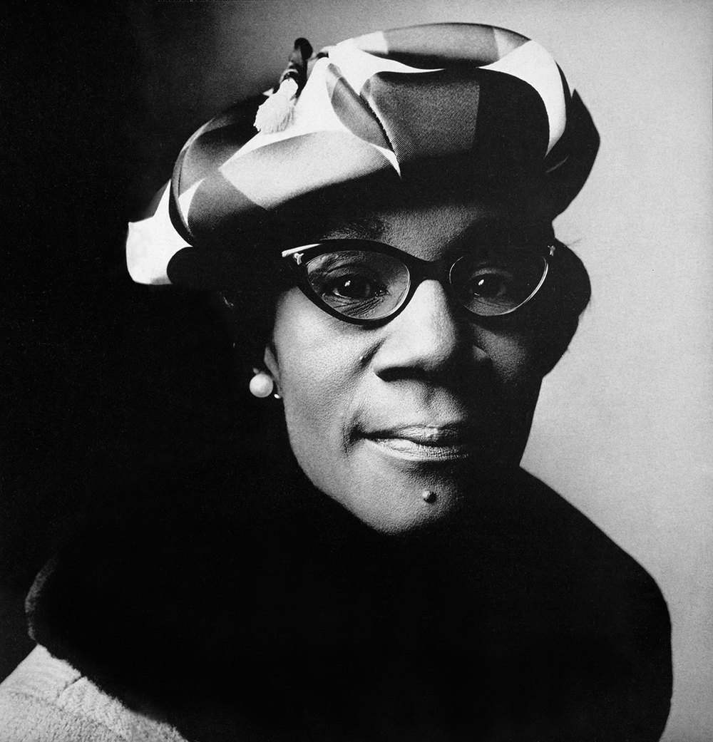 Shirley Chisholm photographed by Irving Penn, Vogue, May 1, 1969