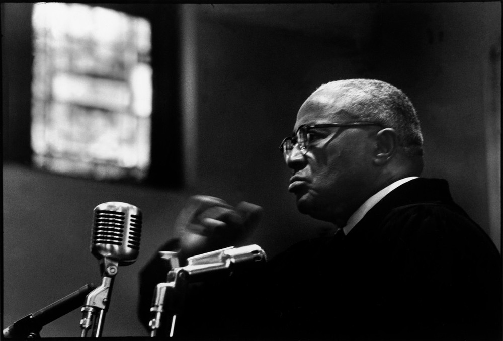 Reverend Martin Luther King Sr.,Photograph by Cornell Capa (1968) via Magnum Photos