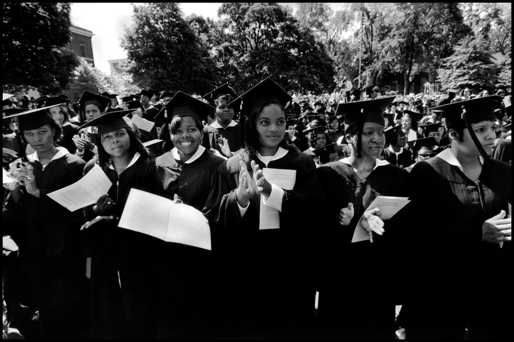 Spelman College. Photograph by Eli Reed (1993) via Magnum Photos