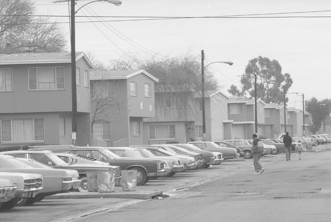 Jordan Downs Housing Project in Watts, Calif., 1989 Los Angeles Times Photographic Archive , UCLA Library