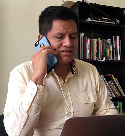 Miguel ángel barriga, director ejecutivo de red somos