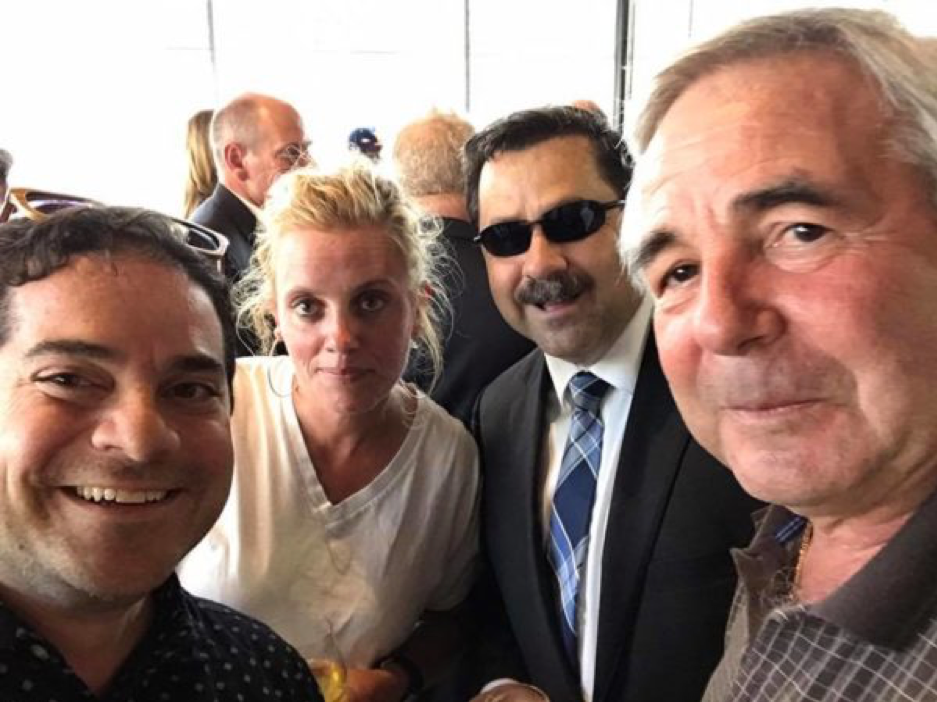 Asbury Park Democrat Chairman Giuseppe Joe Grillo, Deputy Mayor Amy Quinn, Tommy DeSeno and Mayor John Moor. photo via facebook