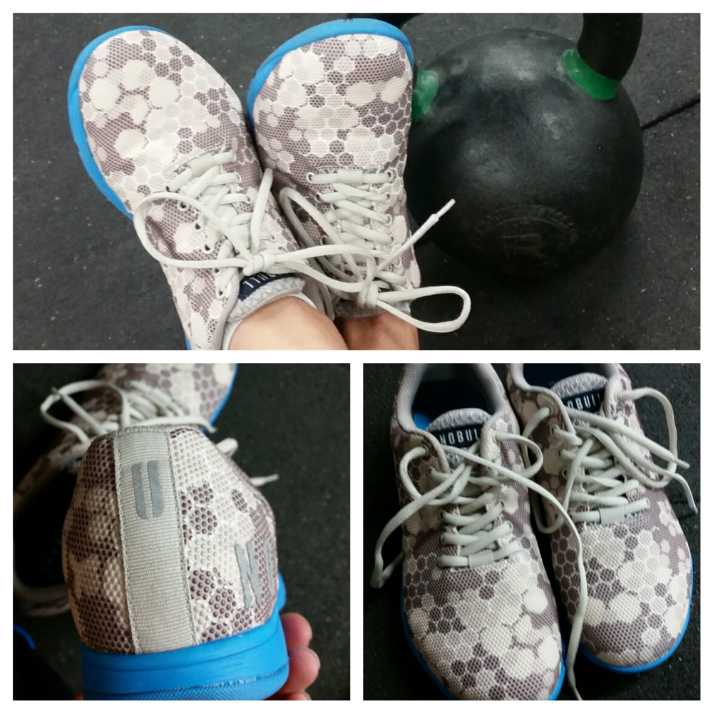 This workout was crazy bad... These shoes are crazy good.