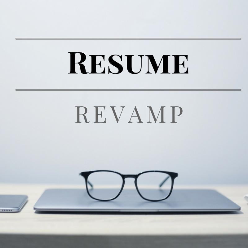 resume revamp