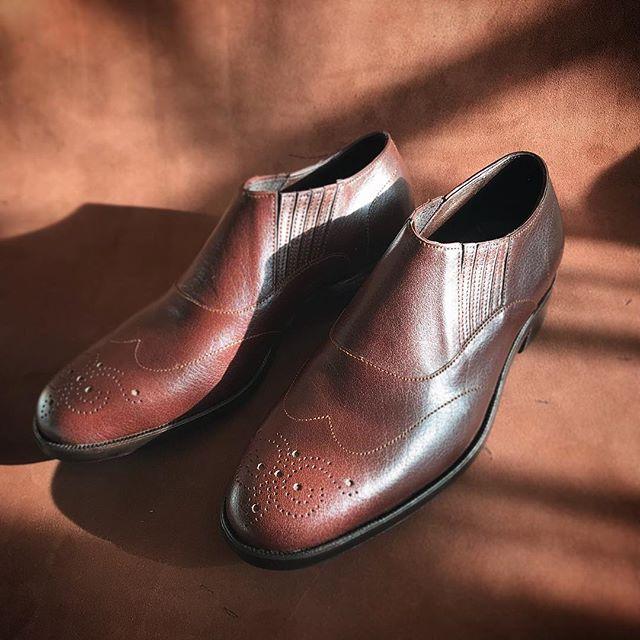 ladies/mckay  #fysky#ordershoes#shoemaker#japan#shoes#shoemaking#handmade#handsewnwelted#style#madeinjapan#leathershoes#shoestagram#shoefashion#靴#注文靴#靴職人#靴作り#革靴#紳士靴#ハンドソーンウェルテッド#マッケイ#9分仕立て#フルハンド#東京#吉祥寺